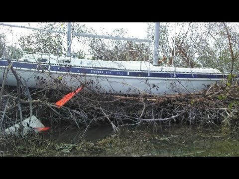 Our Sailboat After Hurricane Irma and what's next for us