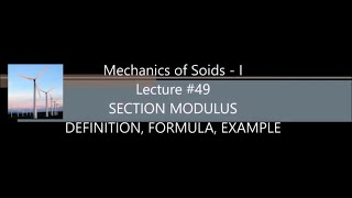 SECTION MODULUS ( DEFINITION, FORMULA, EXAMPLE )
