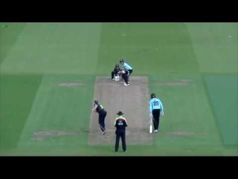 Denly ton in record stand downs Surrey