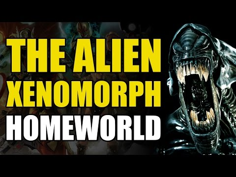 The Alien/Xenomorph Homeworld (Alien Book 1: Outbreak)