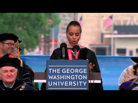 GW Commencement 2013: Kerry Washington
