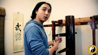Wing Chun Muk Jong - Beginner technique, Muscle Memory And Control