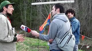 Смотреть видео Вадим Чернобров. Интервью для телеканала Россия-1 (2014) онлайн