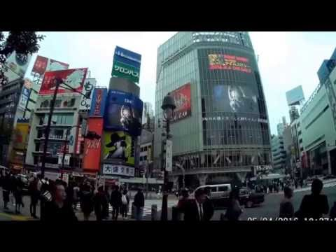 Shibuya And Statue of hachiko Japan Tokyo Travel Video, Guide Part 6 Watching The Crowd and tourists
