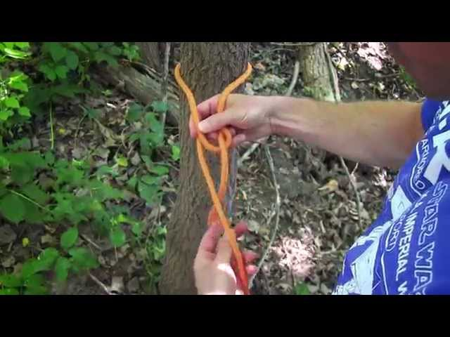 Camping Tip: How To Tie A Bowline Knot