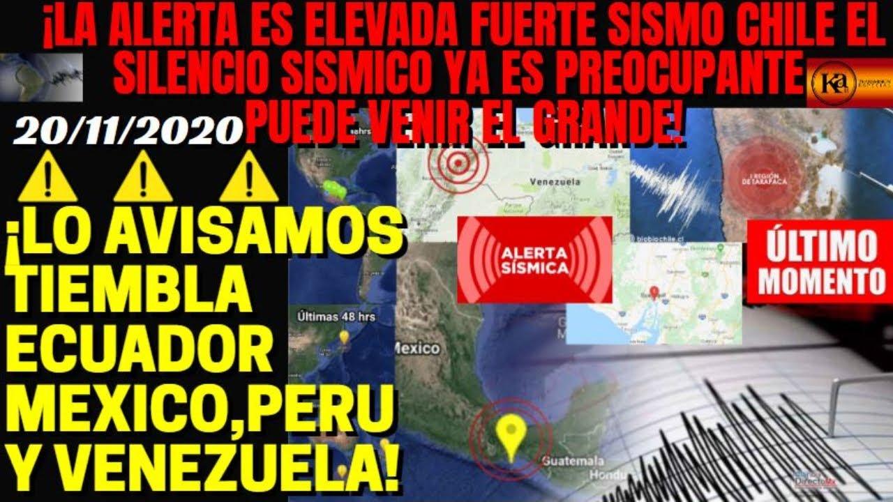 ¡🚨FUERTE SISMO EN CHILE COMO AVISAMOS ¿VIENE UN 8+? ESTAMOS EN ALERTA! ¡SISMOS OAXACA,ECUADOR,PERU!