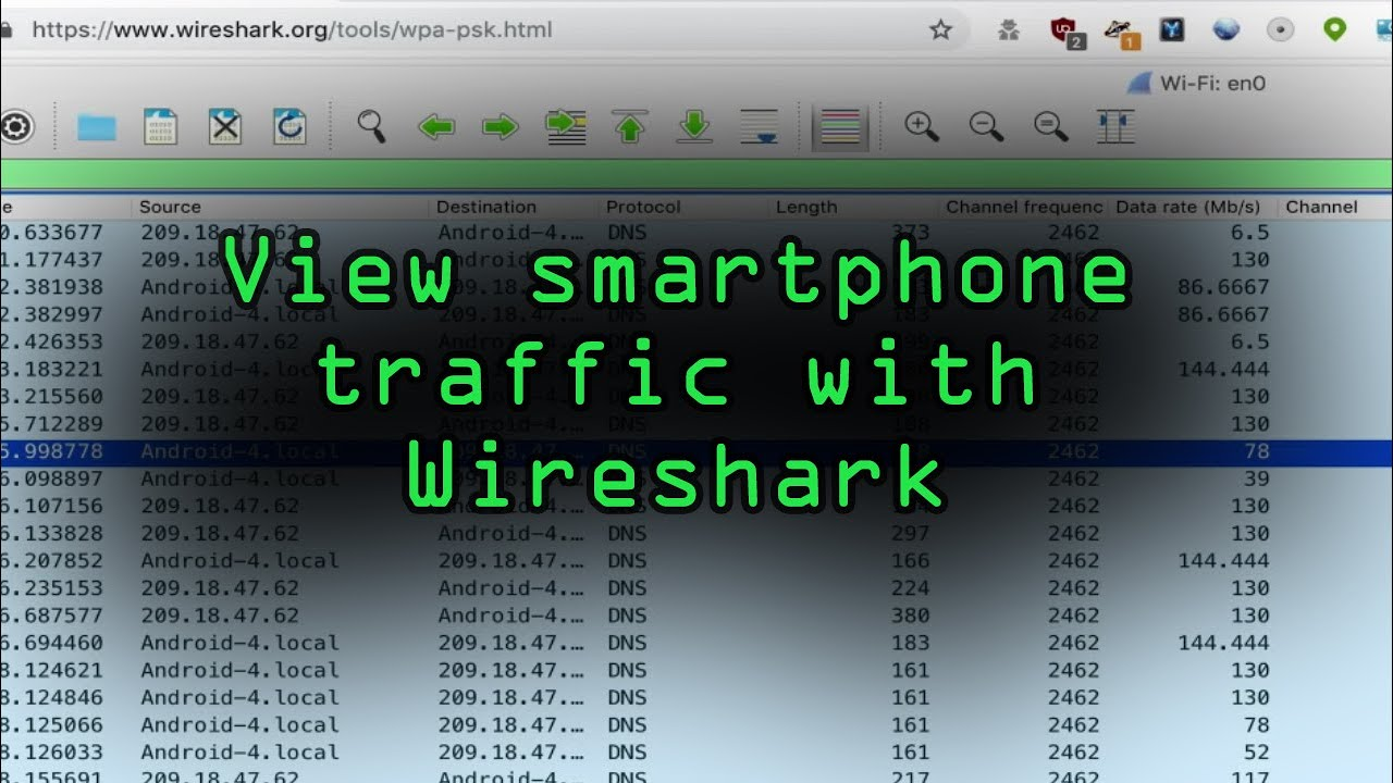 View Smartphone Traffic with Wireshark on the Same Network [Tutorial]
