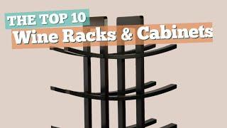 Wine Racks & Cabinets // The Top 10 Best Sellers 2017