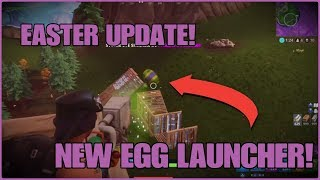 NEW GRENADE LAUNCHER SKIN! EGG LAUNCHER GAMEPLAY (Fortnite Battle Royale) *CONSOLE PS4*