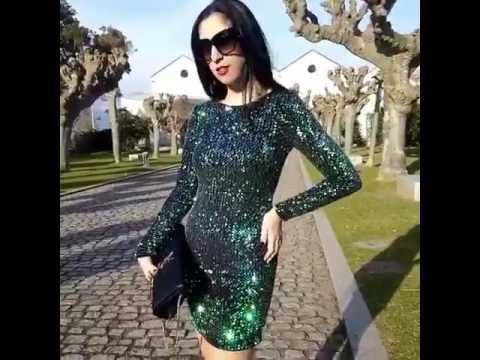 Motel rocks sequins dress