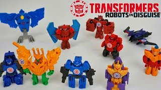 Transformers Robots in Disguise Mini Cons Tiny One Step Changers