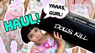 ❤ Dolls Kill HAUL & Product Review ❤ Iron Fist, Minga London ❤ Lolita Kawaii Harajuku Fashion ❤