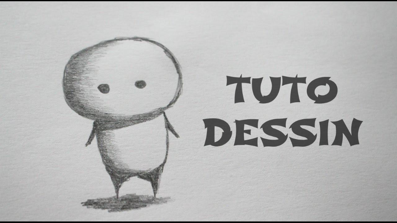 Hervorragend Tuto Dessin Facile : Petit Bonhomme - YouTube DX67