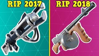 RANKING EVERY 'VAULTED ITEM' FROM WORST TO BEST! (Fortnite Battle Royale!)