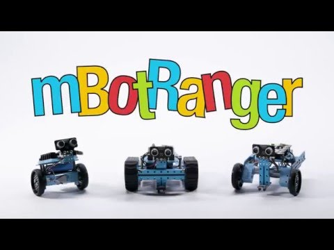 mBot Ranger - Transformable Robot Kit for STEM Education and Fun
