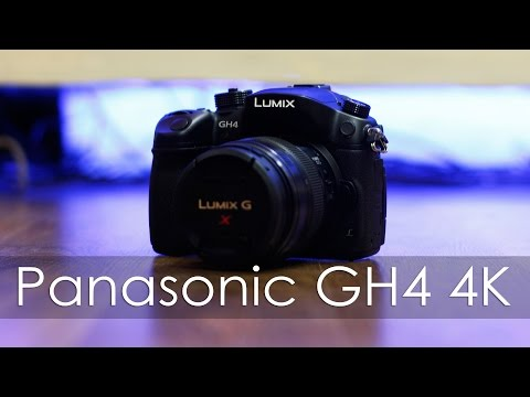 Panasonic GH4 4K Camera with Lumix 12-35mm f2.8 Lens Unboxing