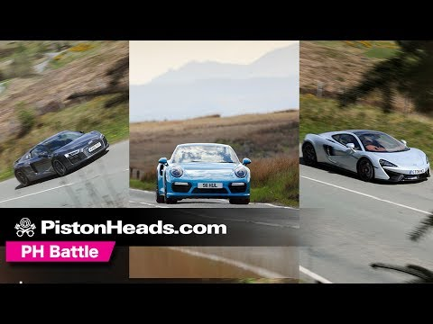McLaren 570GT vs Porsche 911 Turbo S vs Audi R8 V10 Plus | Which is best?