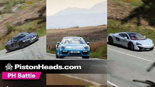 McLaren 570GT vs Porsche 911 Turbo S vs Audi R8 V10 Plus | Which is best?