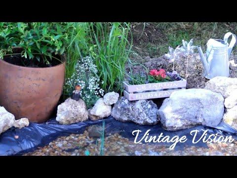como hacer un lago o estanque en casa colaboracion 4
