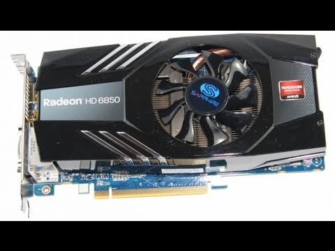 Sapphire Amd Radeon Hd6850 Benchmark First Look Review Youtube
