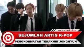 """Penghormatan Terakhir untuk Jonghyun """"SHINee"""""""