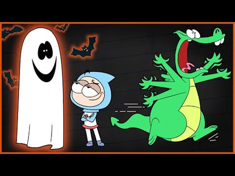 HALLOWEEN MADNESS! Boy & Dragon | Animated Cartoons Characters | Animated Short Films