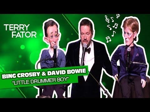 "Bing Crosby & David Bowie sing ""Little Drummer Boy"" -TERRY FATOR (A Very Terry Christmas)"