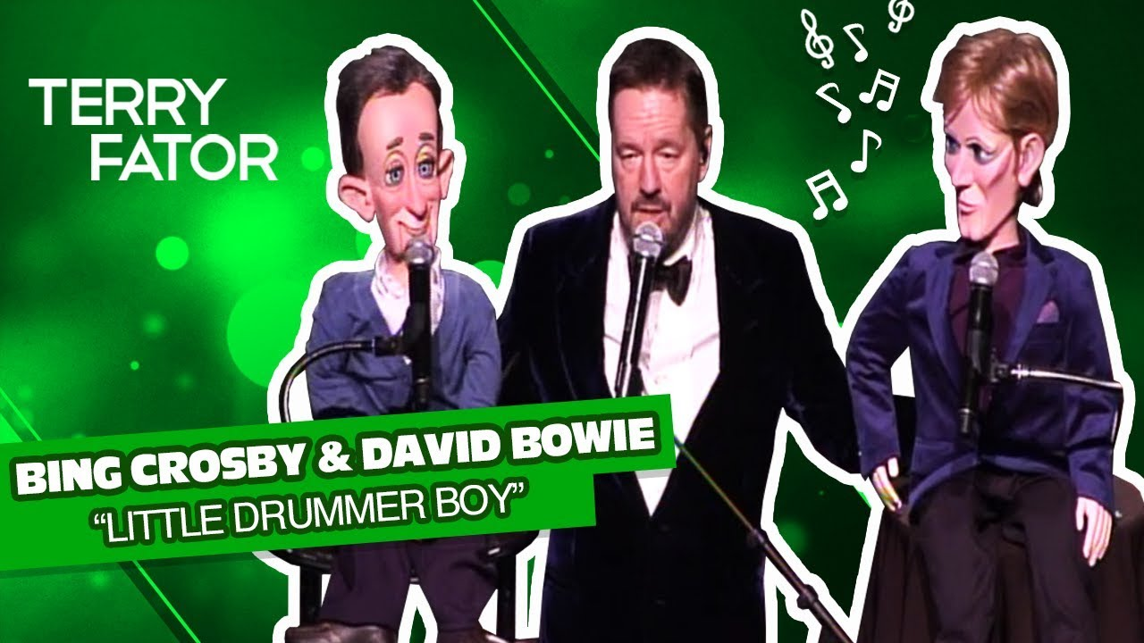 bing crosby david bowie sing little drummer boy terry fator a very terry christmas - David Bowie Christmas