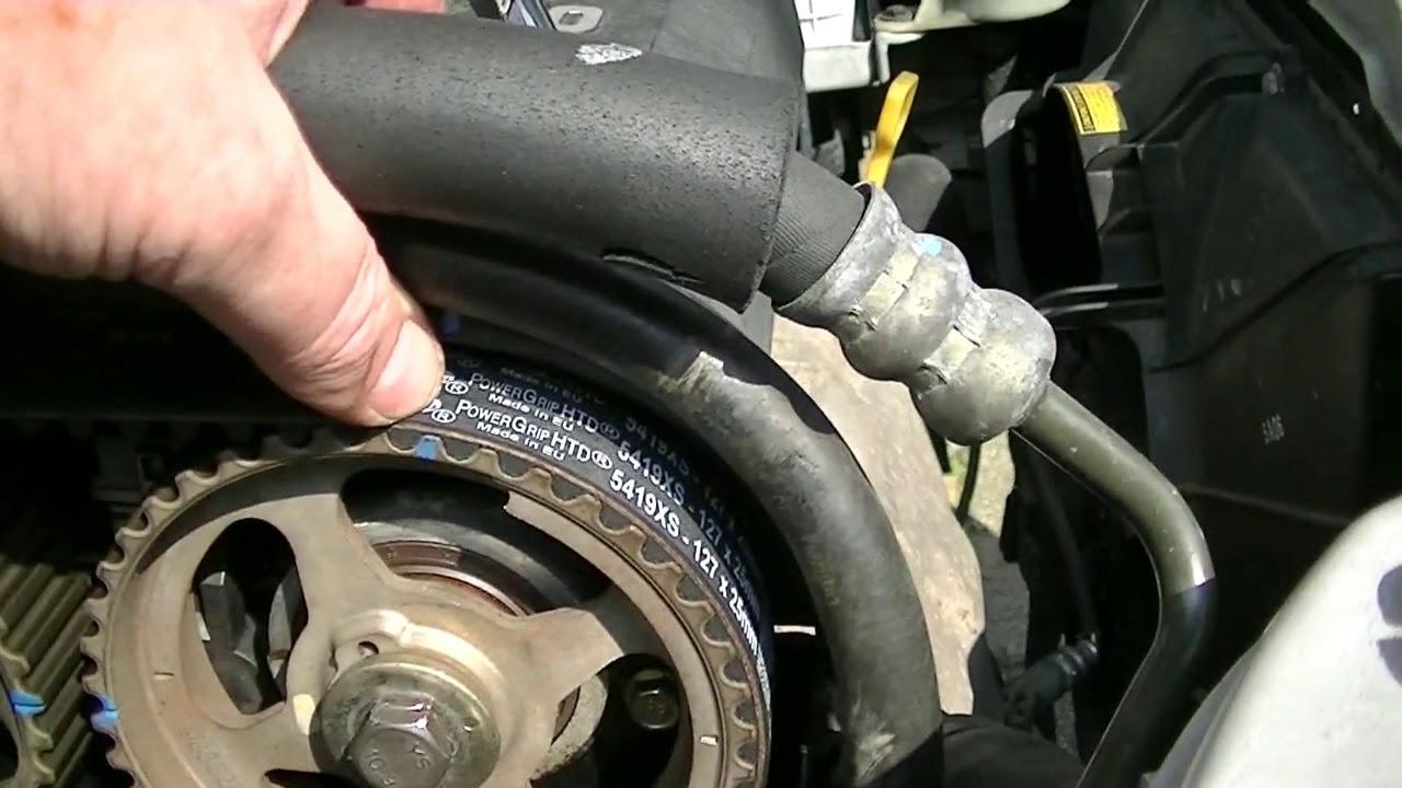 Timing Belt Replacement Chevrolet Kalos Aveo Part 5 Last
