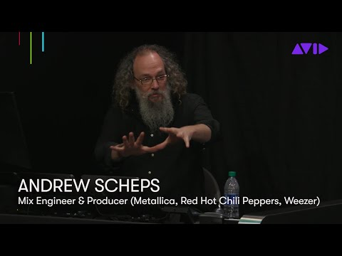 Andrew Scheps shows Avid S1 and Folder Tracks, coming to Pro Tools 2020