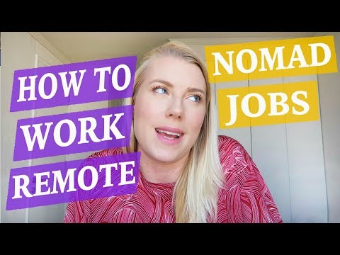 Digital Nomad Jobs - REMOTE COMPANY WORKER ♡ 50 Job Ideas Part 4