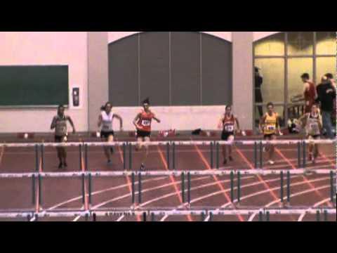 Anderson University 2012 - Fred Wilt Meet 02-25-12 - Girls 60m