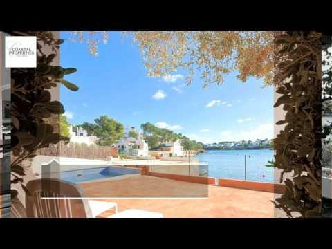 Unique Waterfront Property For Sale In Cala D'or Mallorca