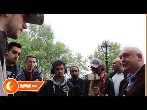 Slavery Has No Place In Islam - Paul Debate With Jamie In Speakers Corner | 30-04-2017