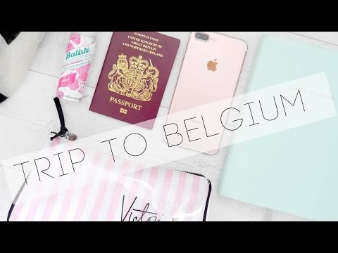 THE BELGIUM VLOG | WHAT'S IN MY SUITCASE? |  Ella Ryder