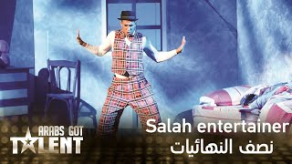 Arabs Got Talent -Salah Entertainer- عرض النهائيات