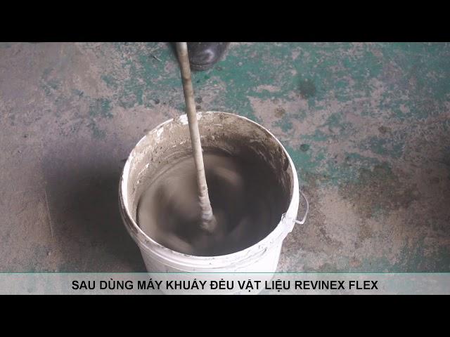 Revinex Flex trộn với nước