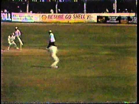 Cricket : West Indies V England 1989-90 - 1st Test Day-2 Highlights