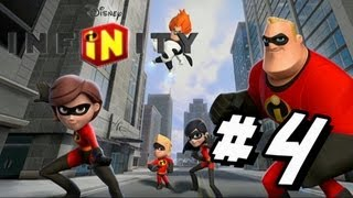 Disney Infinity Guide - Disney Infinity Walkthrough Part 4 The Incredibles World Playset