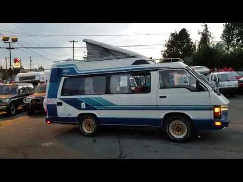 FOR SALE: Toyota Hiace Van Camper 1987, LH66V, 4x4 diesel 2L