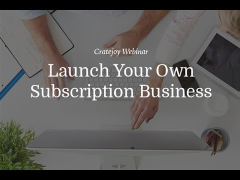 [3/1/16] Why You Should Start a Subscription Business
