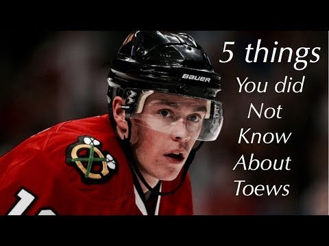 Jonathan Toews 5 Facts you did not know