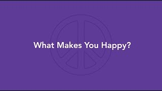 Mindful Kids Peace Summit 2019 PSA: What Makes You Happy?