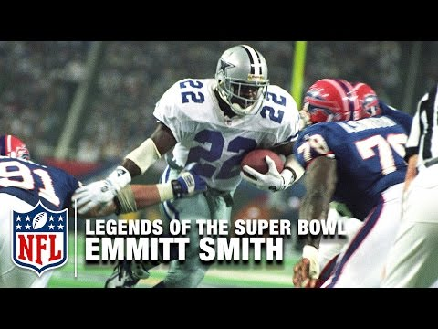 Legends Of The Super Bowl: Emmitt Smith in Super Bowl XXVIII | NFL NOW