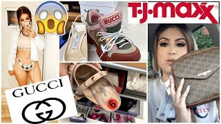 You WON'T BELIEVE the SPRING FASHION I Found at TJMAXX: DESIGNER GUCCI, VALENTINO & MORE