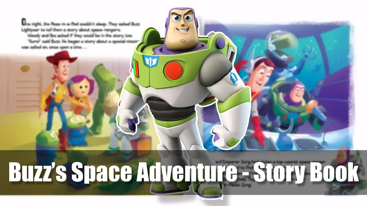 5 toy story 3 buzz 39 s space adventure read along story book reading level 2 youtube