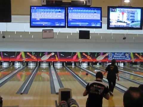 Alex Christofi - 300 Perfect Game - Space Bowling Center Limassol Cyprus - 21/12/2012