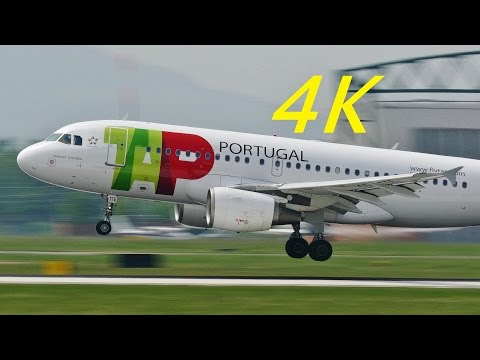 [4K] Plane Spotting at Bologna G.Marconi Airport 2015
