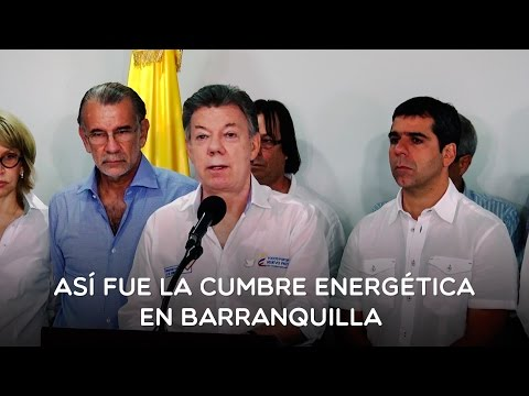 Así fue la cumbre energética en Barranquilla