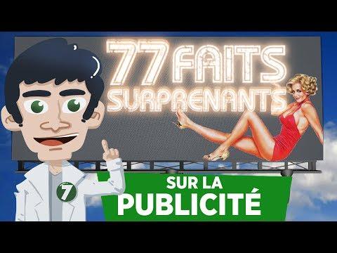 77 FAITS SURPRENANTS SUR LA PUBLICITÉ !!